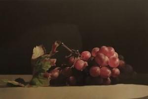 """Salvatore Grasso """"Grappolo d'uva"""" 40x50"""